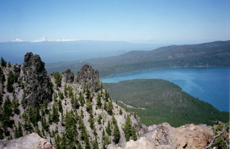Scenic views at 8000' just minutes from DiamondStone Guest Lodges.