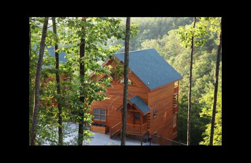 Cabin exterior at Eden Crest Vacation Rentals, Inc. - Rocky Top Escape.