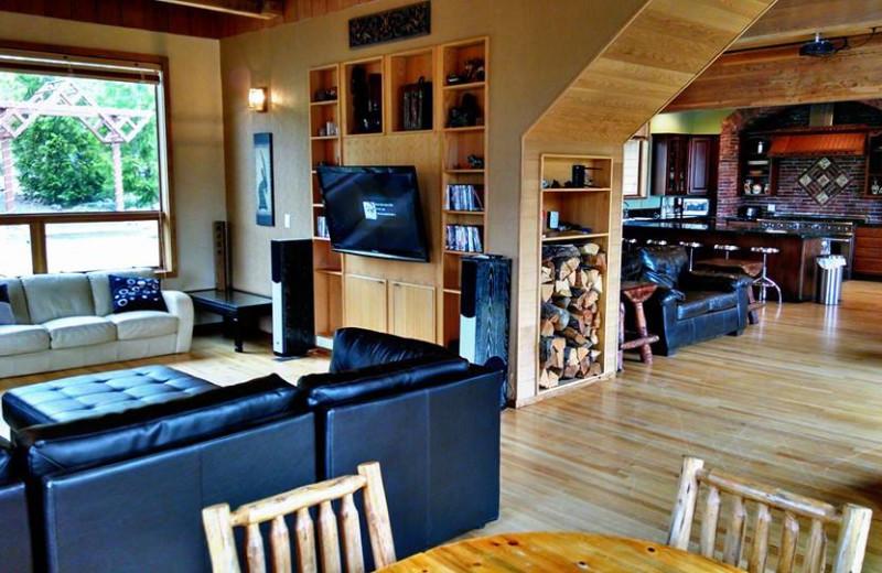 Interior at The Big House Lodge.