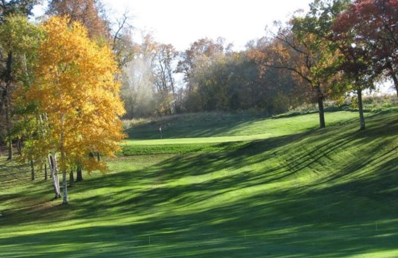 Golf course at Fair Hills Resort.