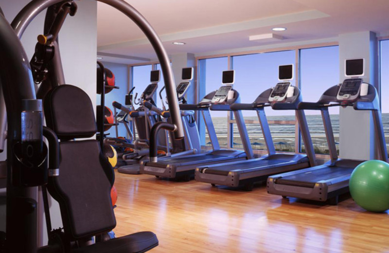 Fitness room at One Ocean Resort & Spa.