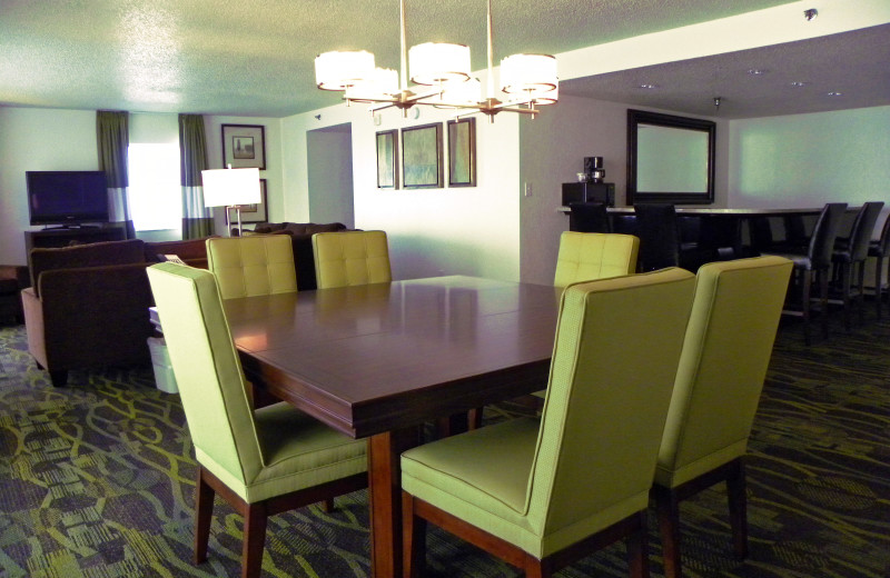 Suite dining table at Perdido Beach Resort.