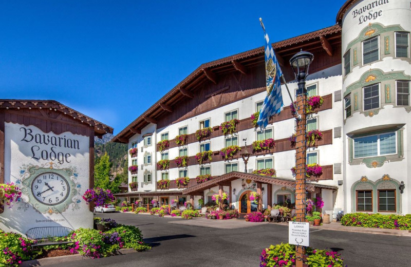 Exterior view of Bavarian Lodge.