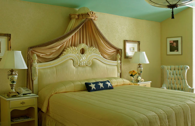 Lady Bird Johnson suite at Grand Hotel.