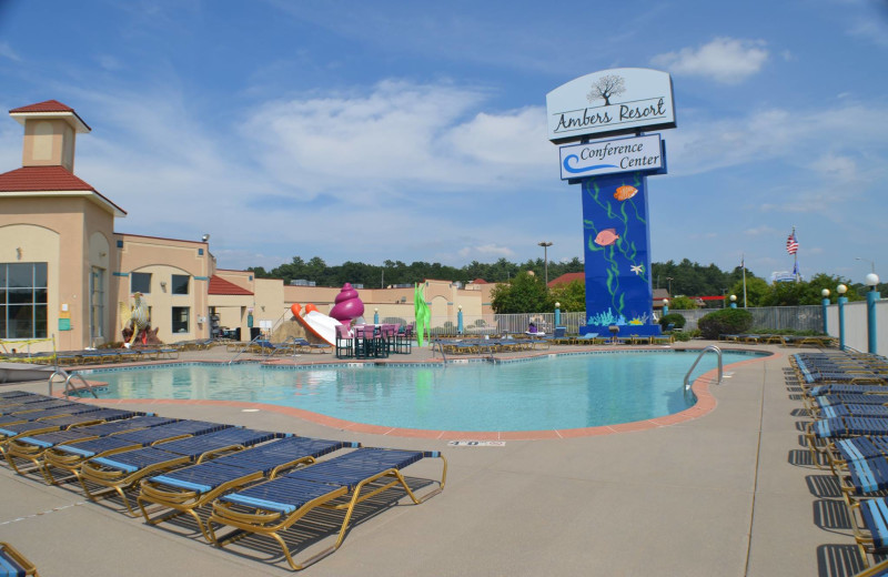 Outdoor pool at Ambers Resort and Conference Center.