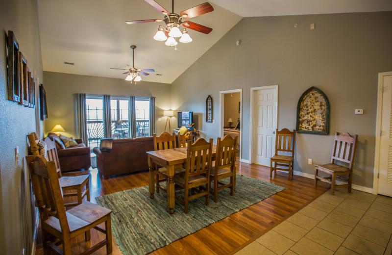 Guest room at Rockwood Resort.