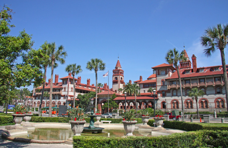Flagler College near Old City House Inn & Restaurant.