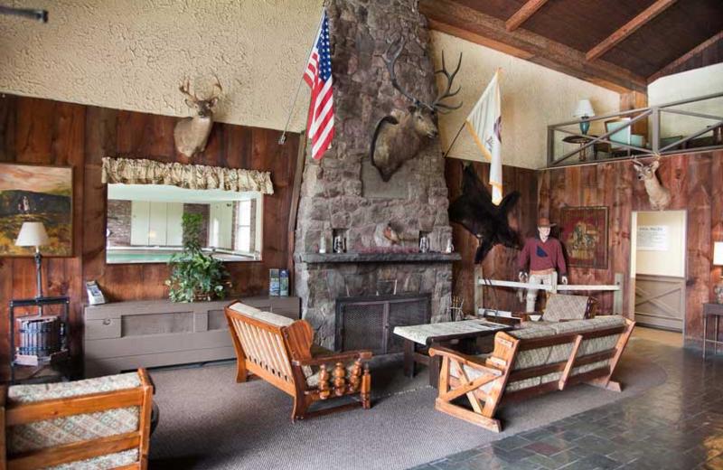 Lobby Area at Malibu Dude Ranch.