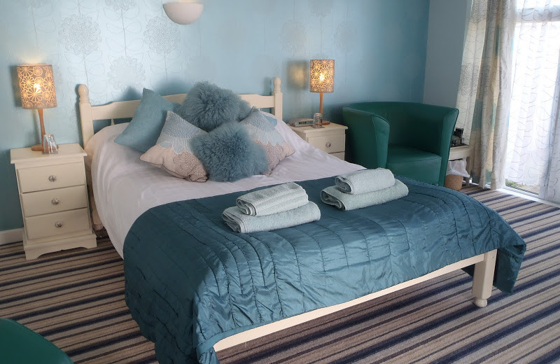 Guest room at Blue Bay House & Lodge.