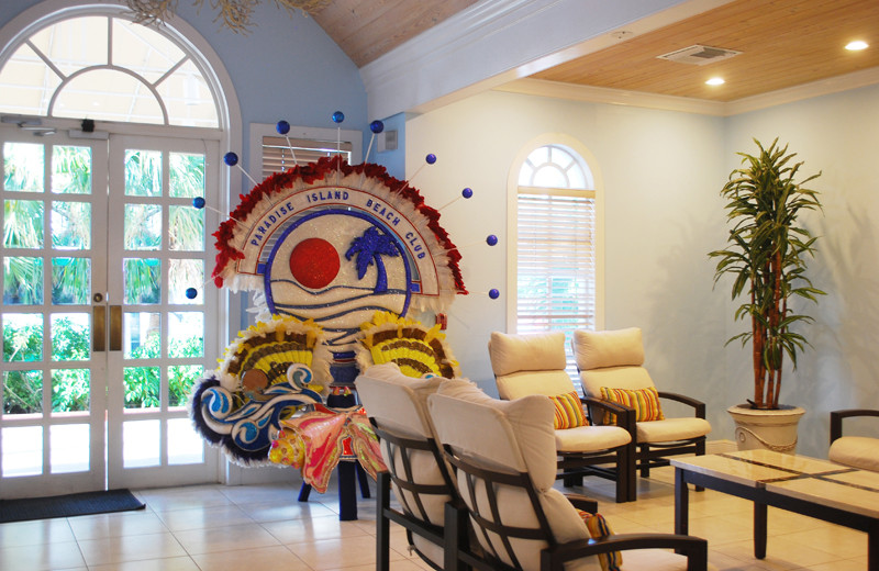 Lobby at Paradise Island Beach Club.