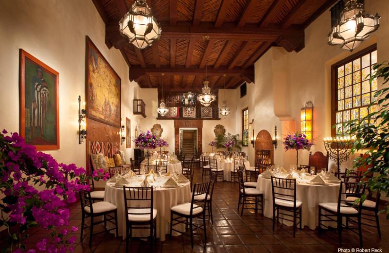 Dining Area at La Fonda on the Plaza