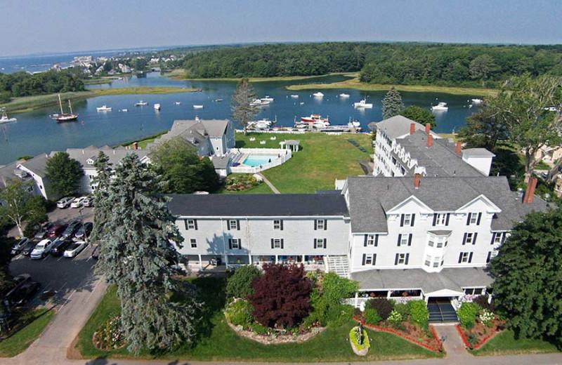 Aerial view of The Nonantum Resort.
