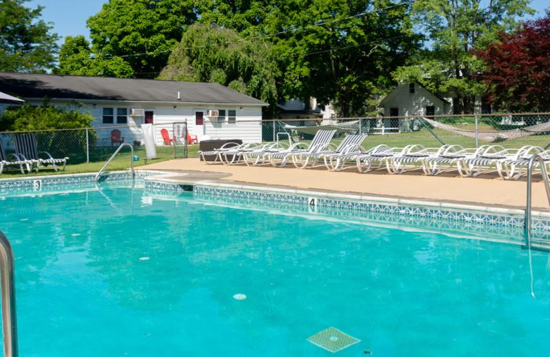 Pool at Deerfield Spa.