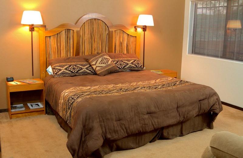 Guest room at San Pedro River Inn.