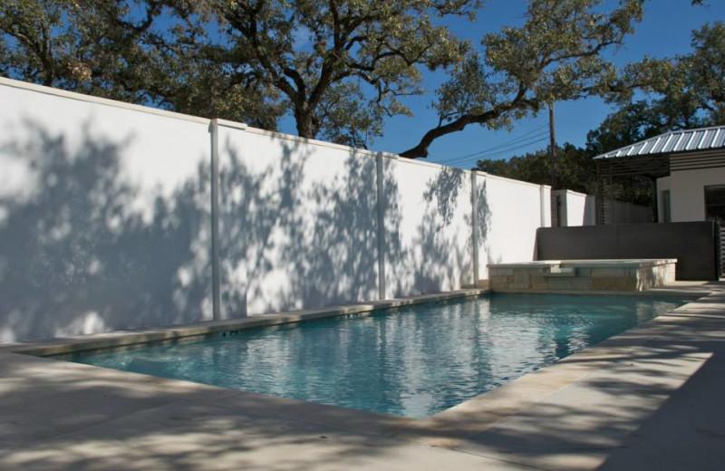 Outdoor pool at Hotel Flora & Fauna.