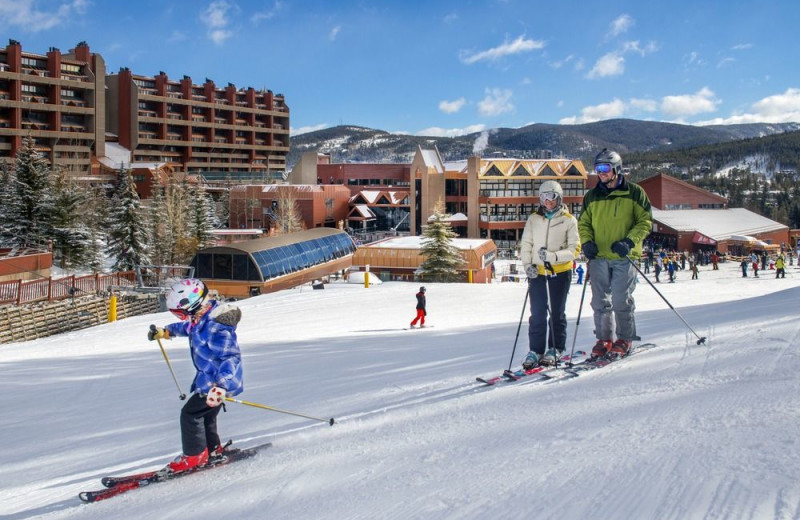 Skiing at Beaver Run Resort & Conference Center.
