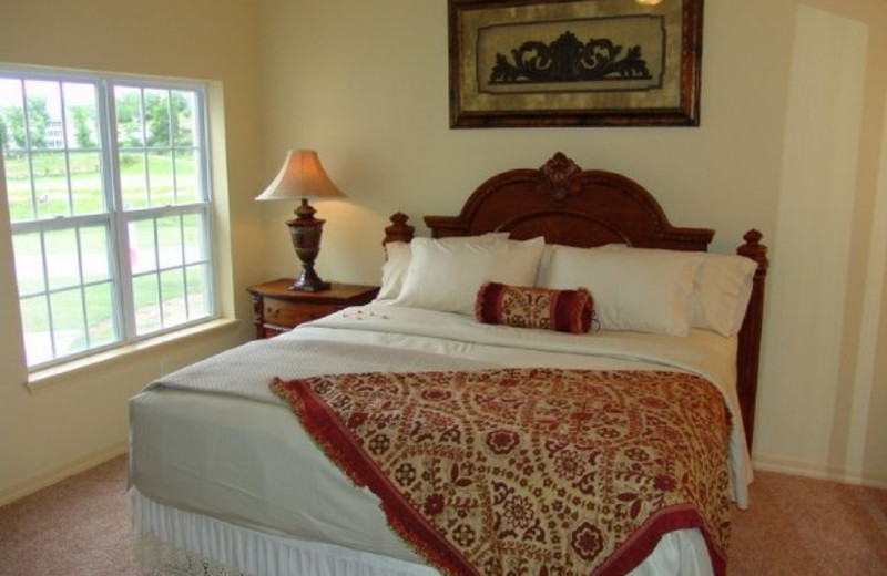 Guest room at Thousand Hills Golf Resort.
