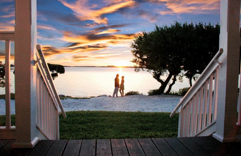 Couple at Hawks Cay Resort.