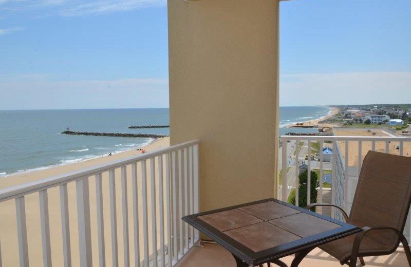 Rental balcony at Dolphin Run Condominium Association. Inc.