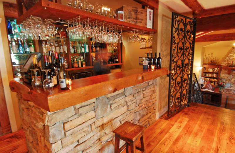Bar at Galiano Oceanfront Inn and Spa.
