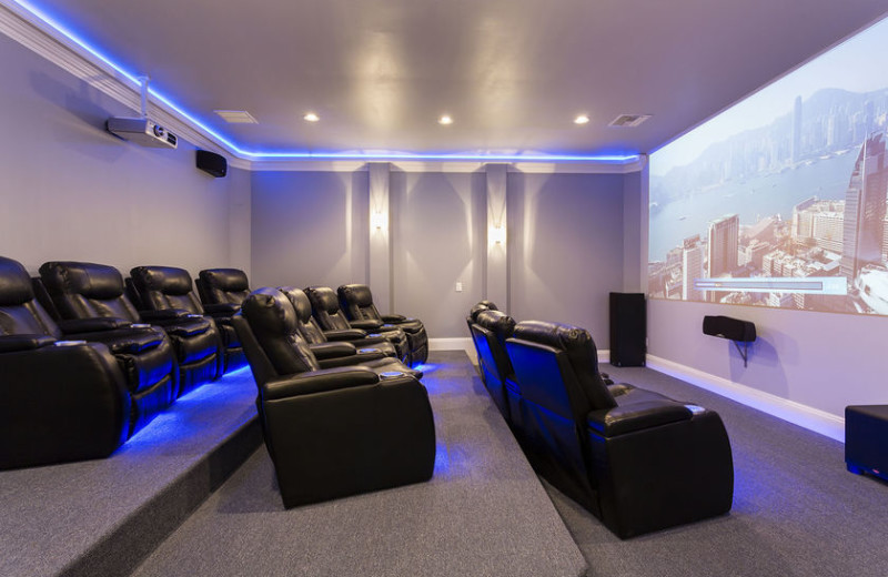 Rental movie theater at Vacome.