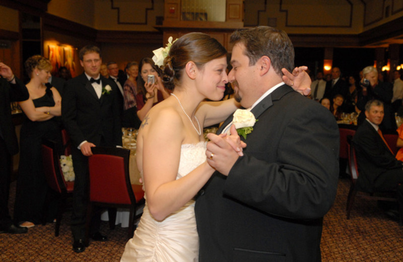 First dance at Stonehedge Inn and Spa.