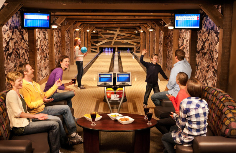 Bowling at One Ski Hill Place.