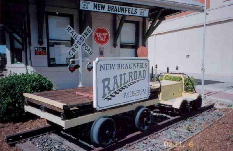 New Braunfels Railroad Museum near River City Resorts.