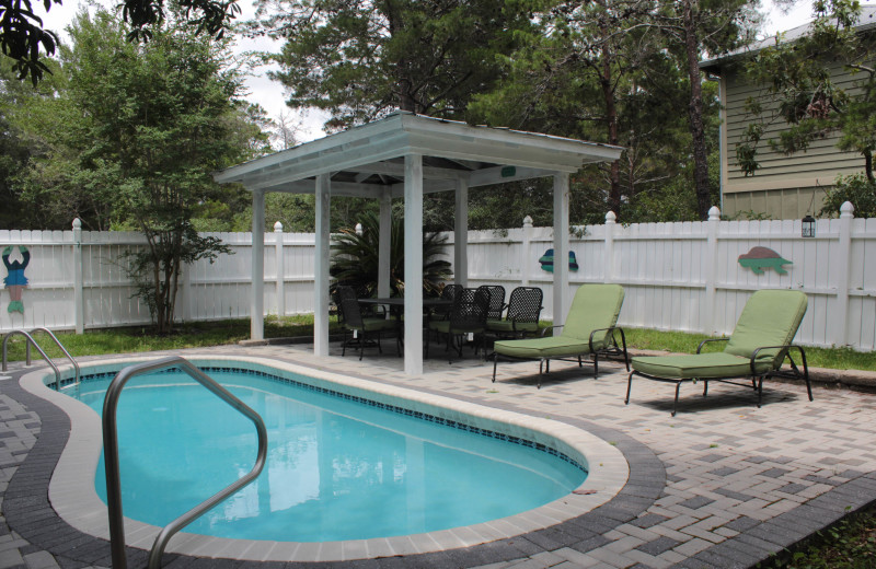 Rental pool at Seagrove On The Beach Property Rentals.