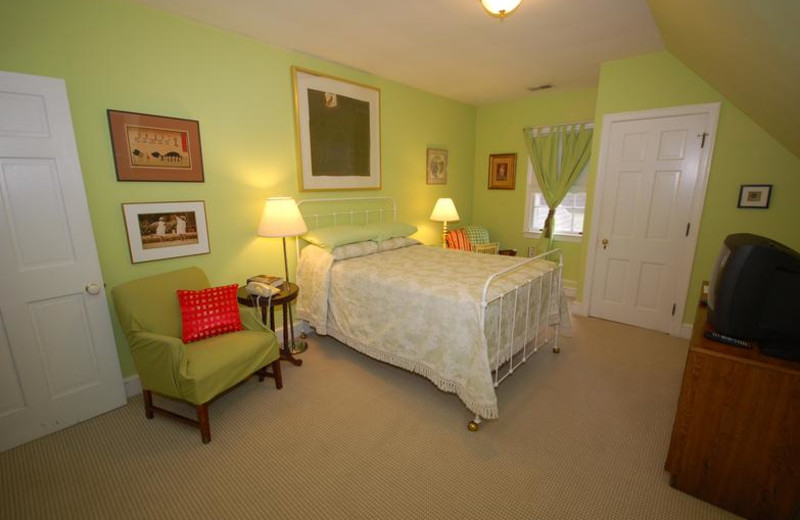 Guest room at Stone Manor.