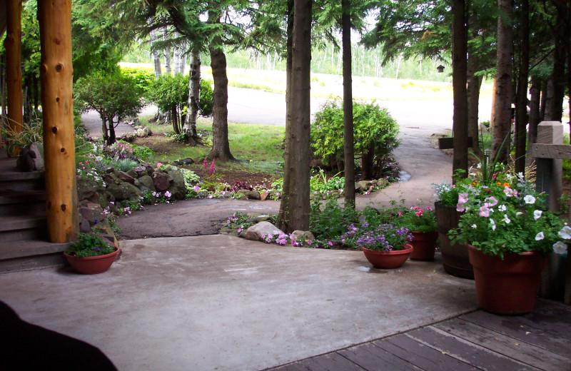 Garden at Thomsonite Beach Inn