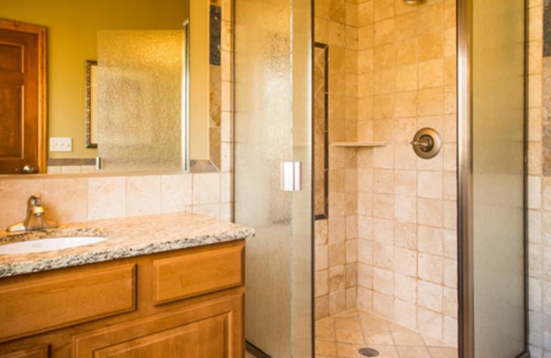 Condo Bathroom at The Stanley Hotel