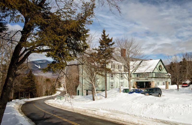 Exterior view of Silver Fox Inn.