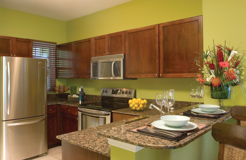 Guest kitchen at Hawks Cay Resort.
