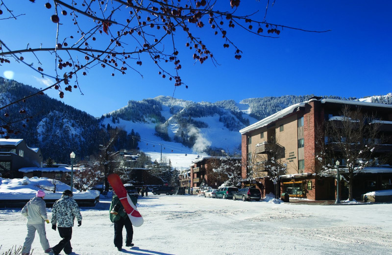 Ski near Aspen Square Condominium Hotel.