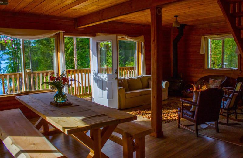 Interior view of Wilderness Resort & Retreat.