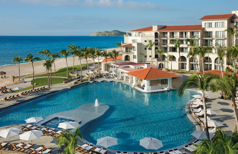 Outdoor pool at Dreams Los Cabos Suites Golf Resort & Spa.