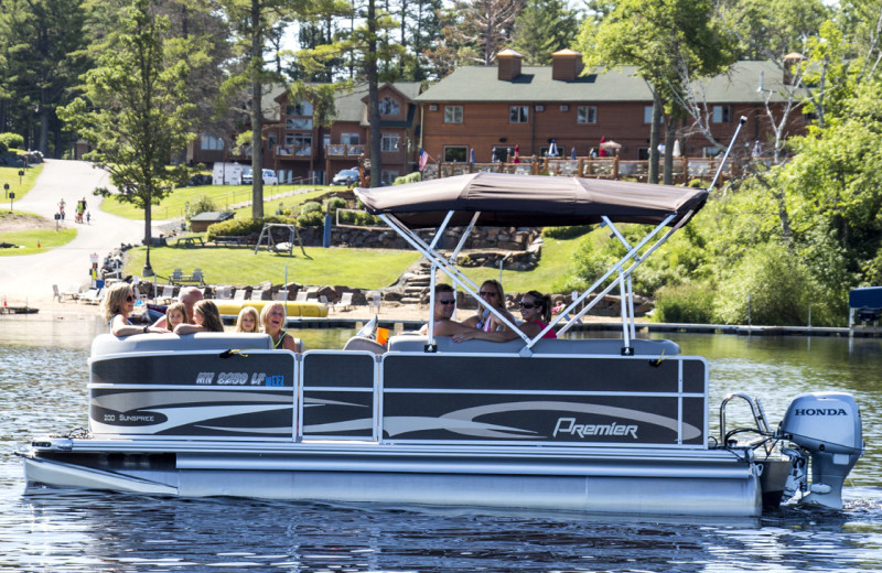 Pontoons at Big Sandy Lodge & Resort.