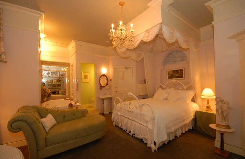 Guest room at Humboldt House Bed and Breakfast.