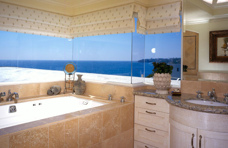 Guest bathroom at Sunset Cove Villas.