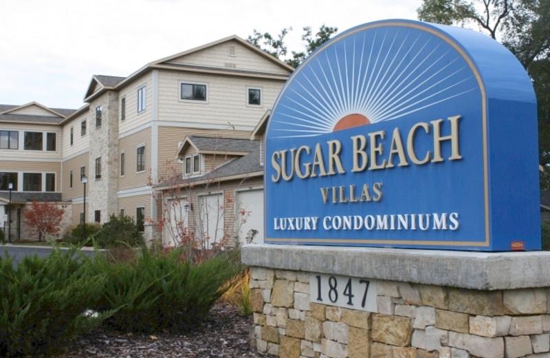 Exterior view of Grand Beach/Sugar Beach Resort Hotel.