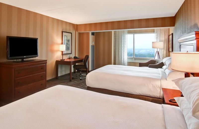 Guest room at DoubleTree Fallsview Resort & Spa by Hilton - Niagara Falls.