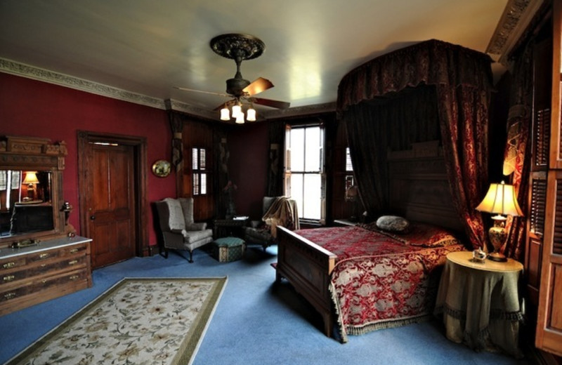 Guest room at Firmstone Manor.