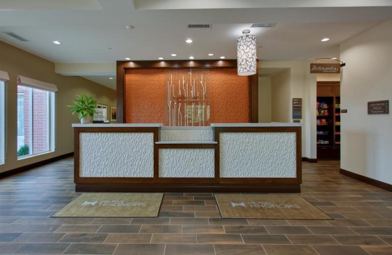 Check in at Hilton Garden Inn - Benton Harbor.