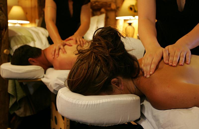 Spa Massages at  Carson Ridge Cabins