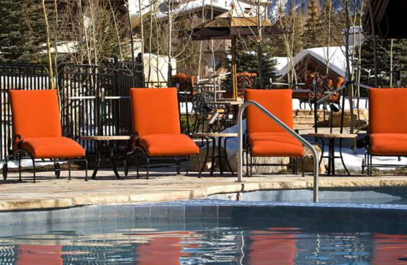 Outdoor pool at Lodge Tower.