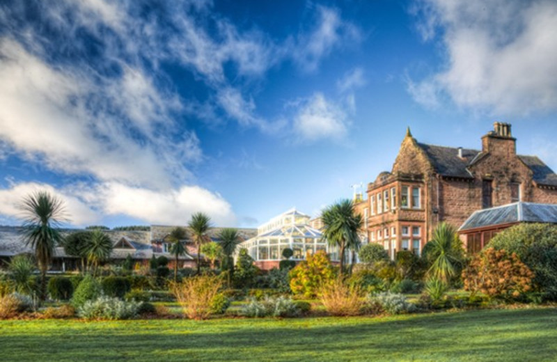 Exterior view of Auchrannie Country House Hotel.