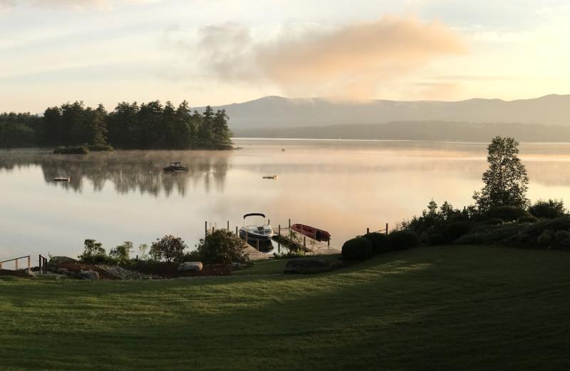 Lake view at At The Lake Vacation Rentals.