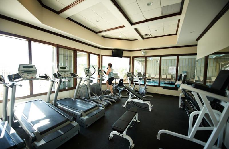 Fitness room at Fourwinds Resort & Marina.