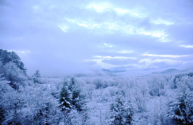 Winter at Eastern Slope Inn Resort.